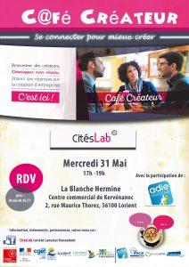 Café créateur @ La blanche Hermine - Kervénanec   Lorient   Bretagne   France