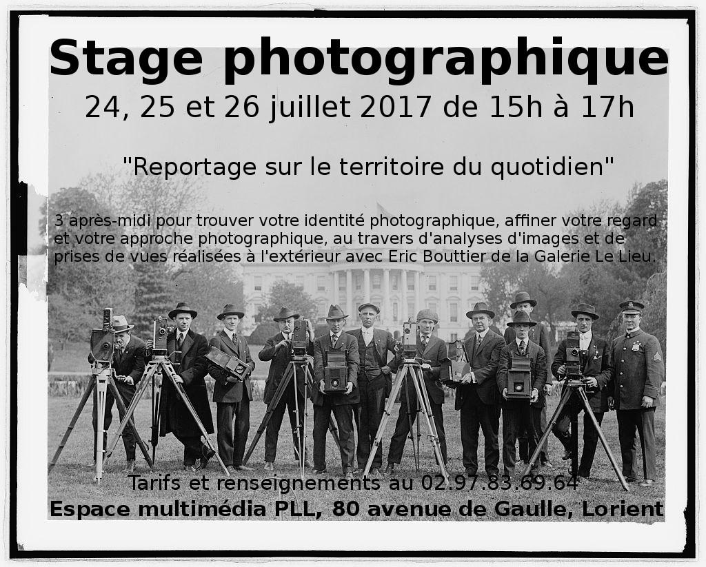 Stage photographique @ Espace multimédia PLL   Lorient   Bretagne   France