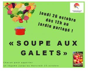 """Soupe aux galets @ Jardin partagé """"Les coccinelles"""""""