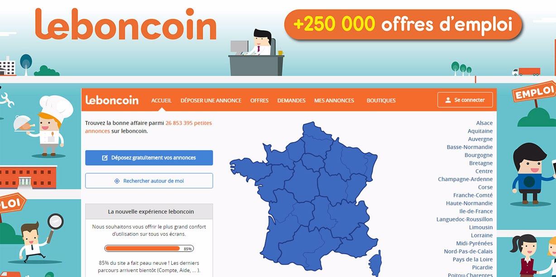 Une solution pour l'emploi : Leboncoin.fr - Le Kiosque