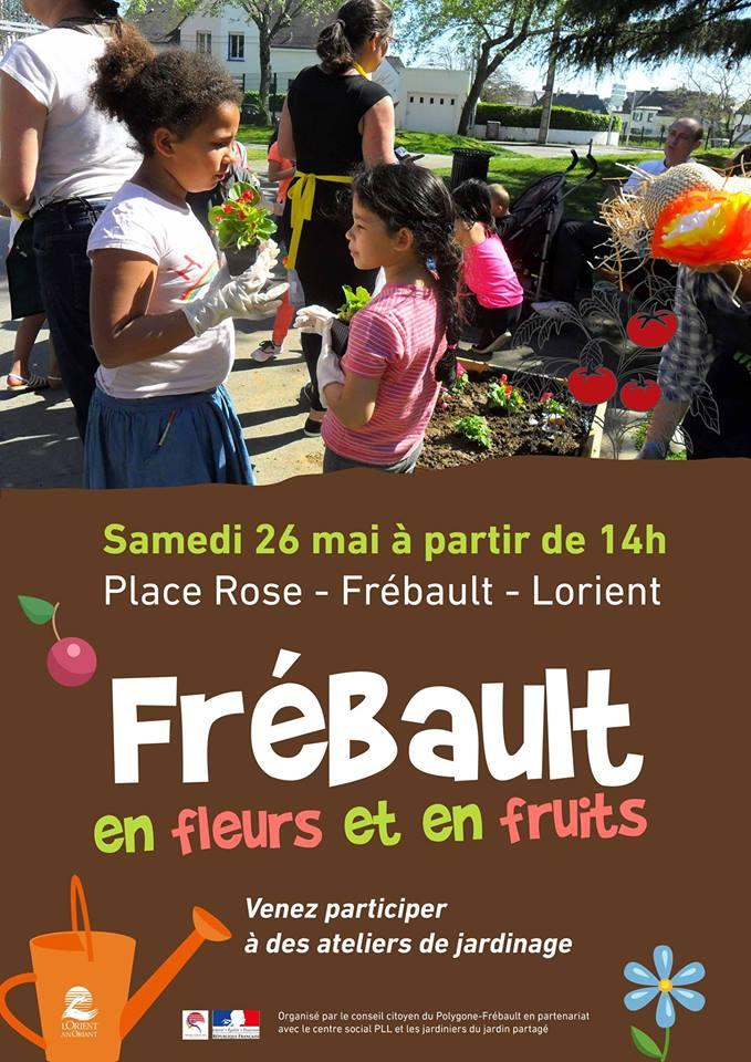 Frébault en fleurs et en fruits @ Frébault, place rose | Lorient | Bretagne | France