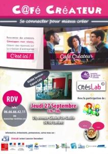 Café créateur @ Foyer des Jeunes Travailleurs. 25, avenue Général De Gaulle, 56100 Lorient