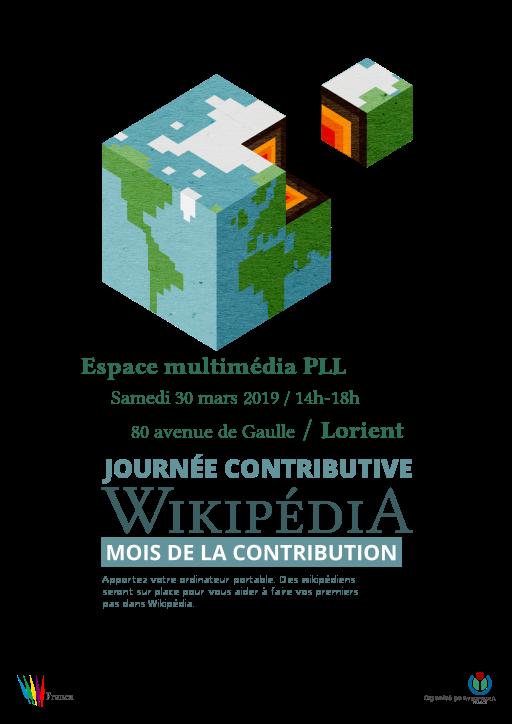 Atelier découverte de Wikipédia @ Espace multimédia PLL | Lorient | Bretagne | France