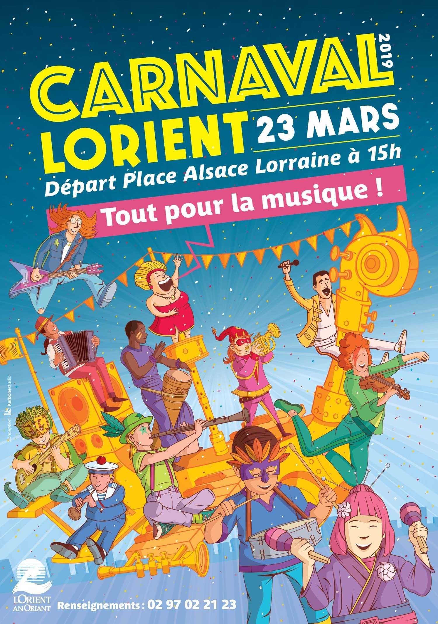 Carnaval de Lorient 2019