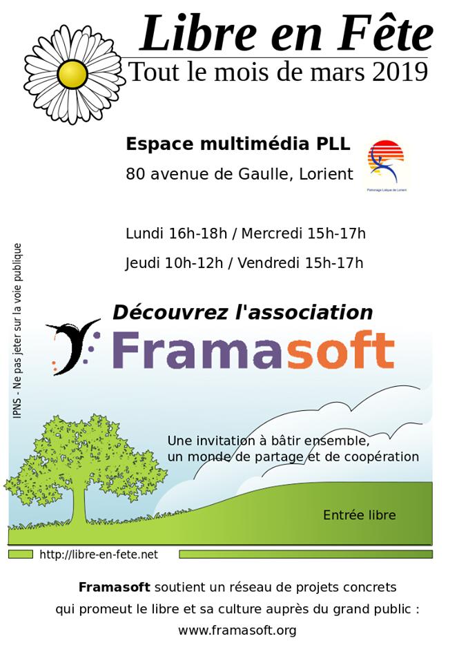 Libre en fête @ Espace multimédia du Polygone | Lorient | Bretagne | France
