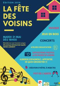 Fête des voisins 2019 @ Agora - Les Grands Larges -Lorient