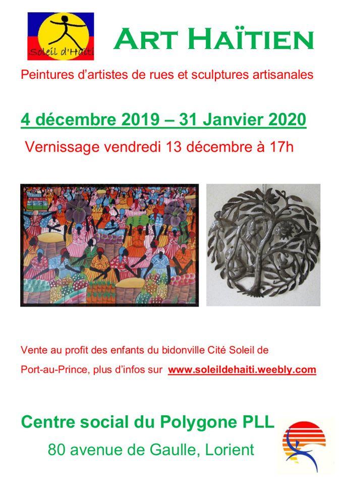 Exposition Soleil d'Haïti @ Centre social Polygone | Lorient | Bretagne | France
