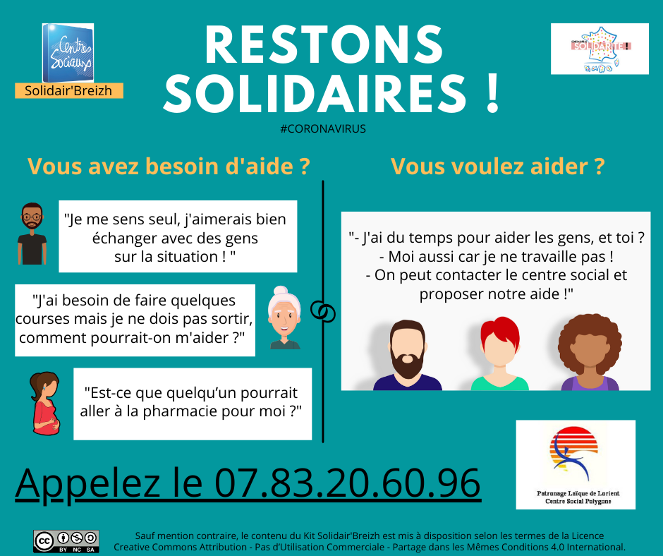 Restons solidaires