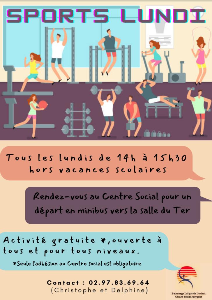 Sports Lundi @ Salle du Ter - Lorient